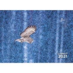 Linnut kalenteri omallalogolla
