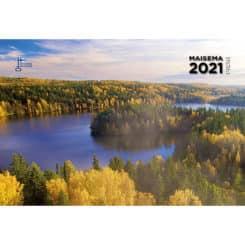 maisemakalenteri omalla logolla