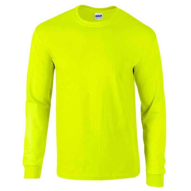 Gildan pitkähihainen huomio T-paita omalla logolla 96f50950aa