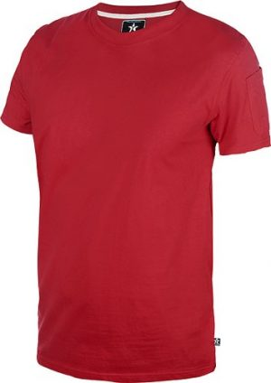 Texstar Crew unisex T-paita omalla logolla