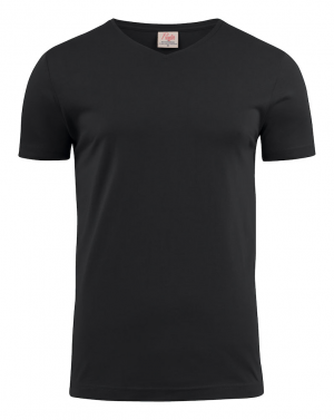 Printer Heavy v-neck t-paita omalla logolla
