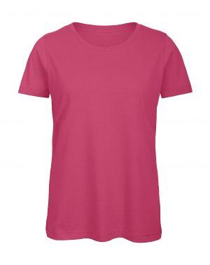 Naisten orgaanin t-paita omalla logolla