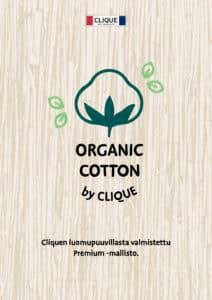 Clique luomupuuvilla tuotteet