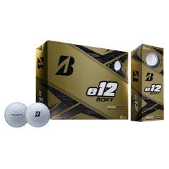 bridgestone-e12soft-golfpallo omalla logolla