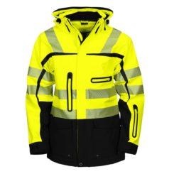 projob-6417-takki-keltainen-musta logolla