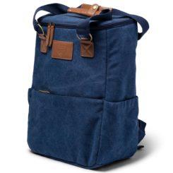 kylmalaukku-reppu logolla
